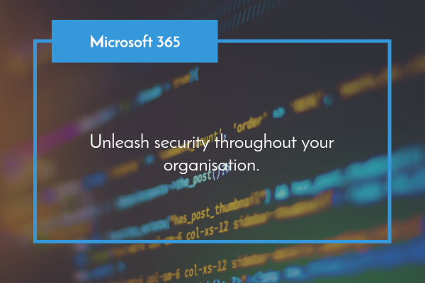 Unleash Security through out your organisation