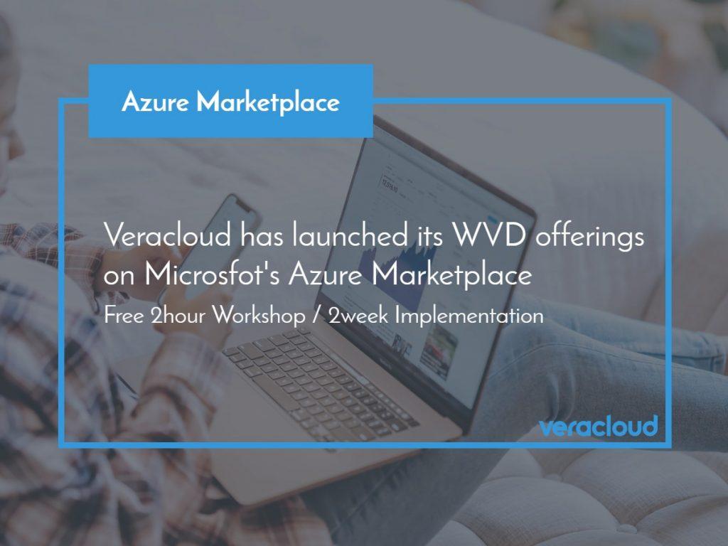 WVD on Azure Marketplace
