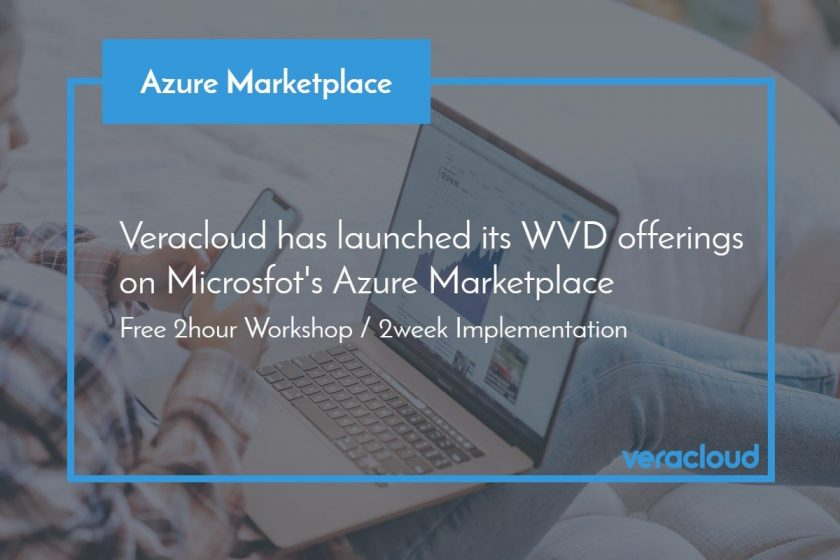 WVD on Azure Marketplace